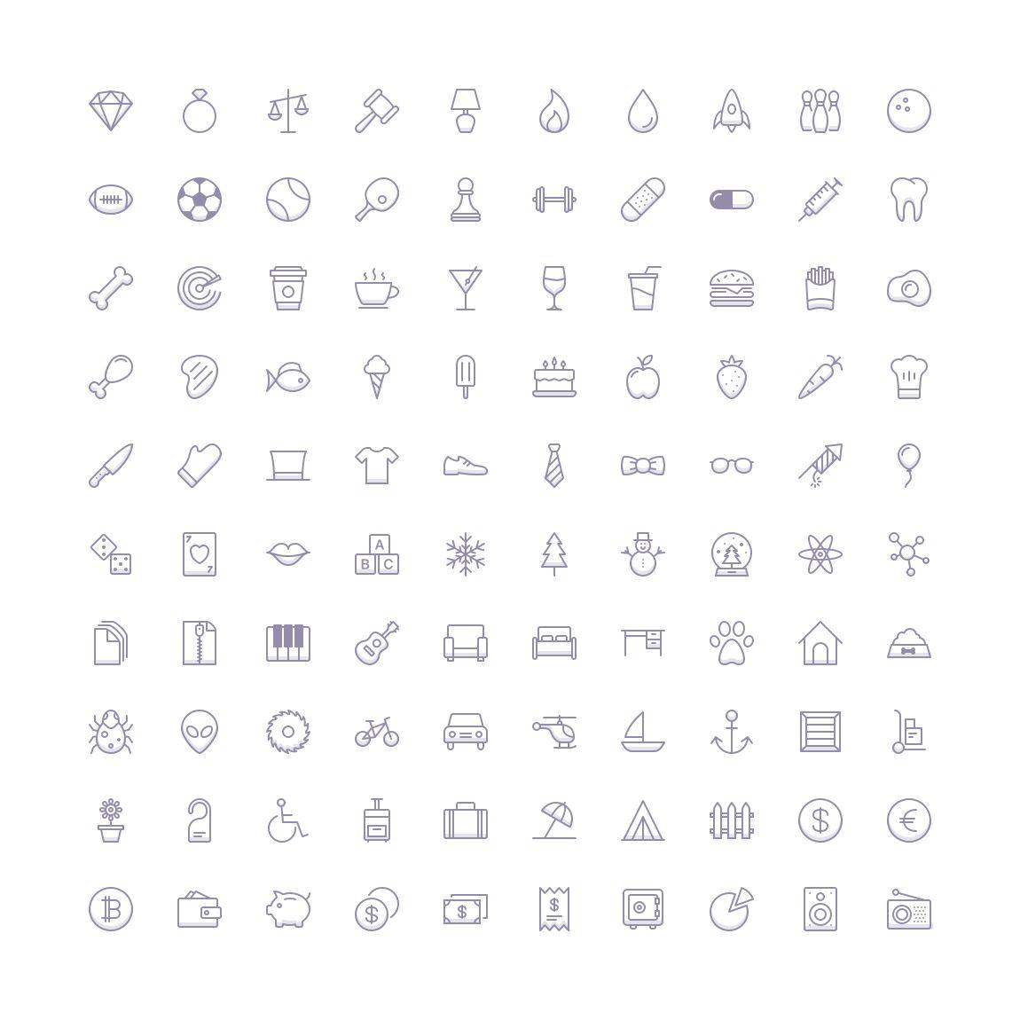 Free Funkies Shaded Icon Set png svg illustrator