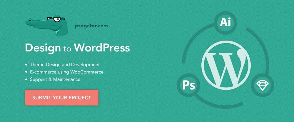 Design to WordPress – PSD Gator
