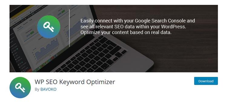 WP SEO Keyword Optimizer