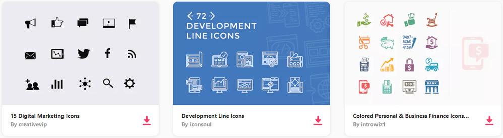 Free Online Marketing Seo Icon Set 50 Icons Png Svg Ensegna Blog