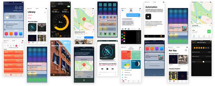 Puzzles iOS 10 UI Kit Sketch