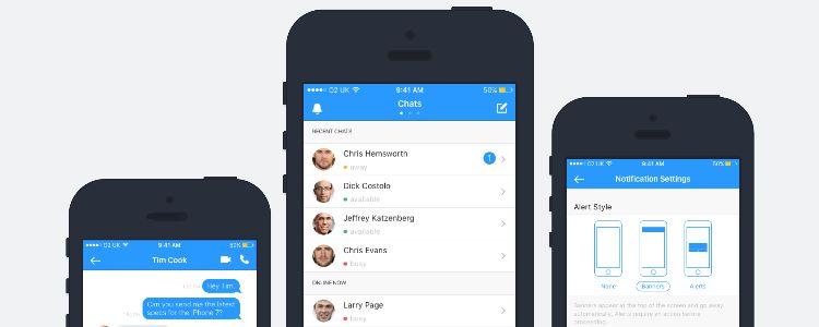 Free Chat UI Design Kit
