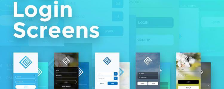 10 Mobile Login Screens