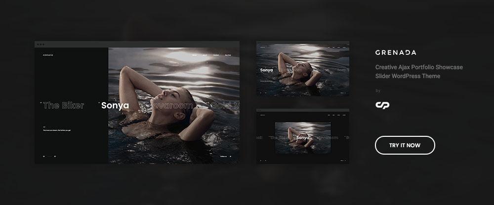Grenada - Creative Ajax Portfolio Showcase Slider Theme