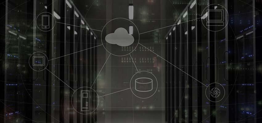 Cloud server diagram.
