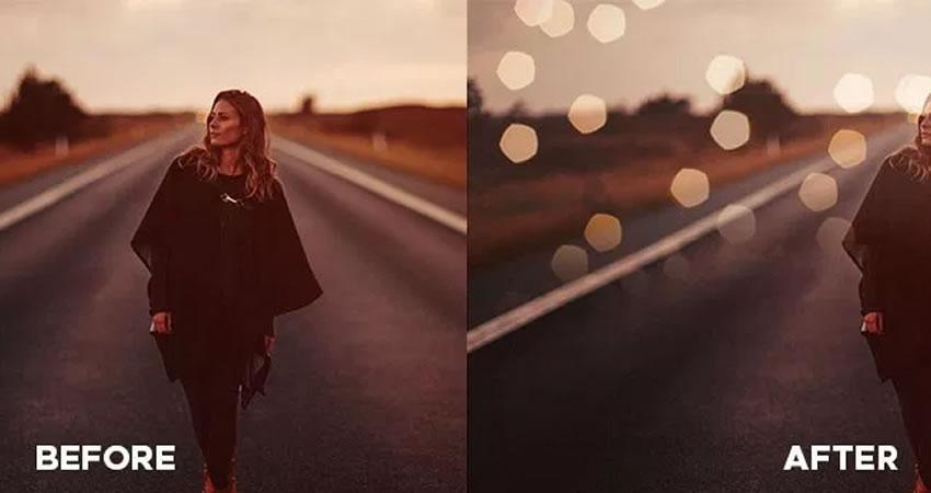 Bokeh Photo Overlays Photography Effects