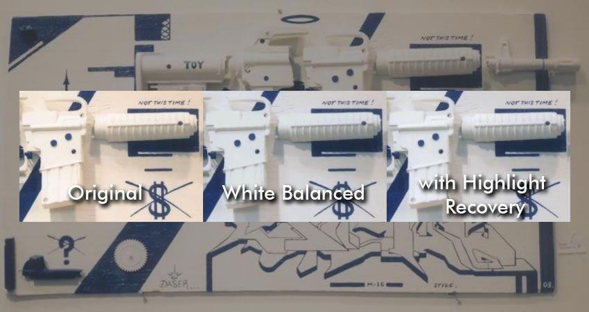 White Balance Highlight Recovery Plugin Photographer Plugin