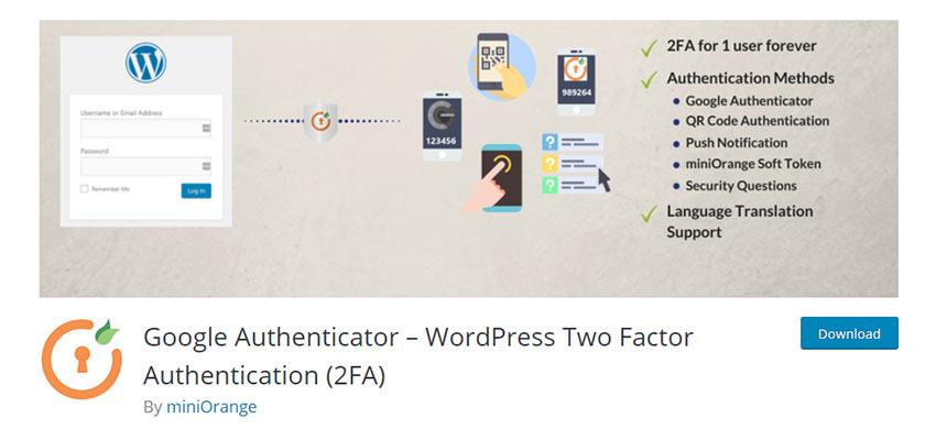 Google Authenticator – WordPress Two Factor Authentication (2FA)