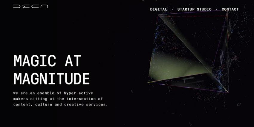 Example of Deca Digital